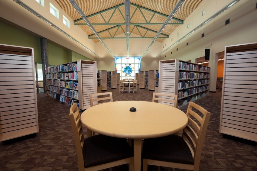 TableCaseGoods_Pflugerville Public Library-